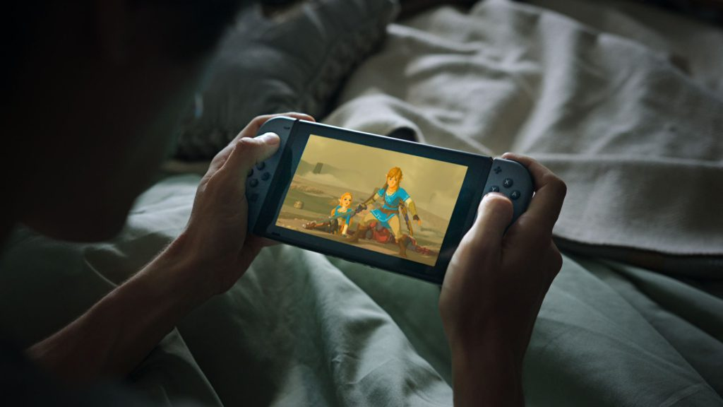 Nintendo Switch Zelda Cama