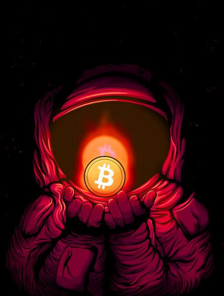 astronauta bitcoin